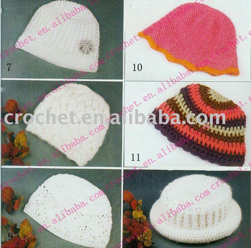 Crochet Sun Hats & Women's Crocheted Crushable Cowboy Hat