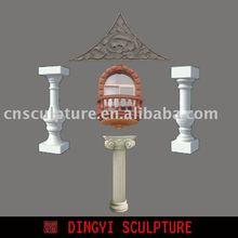 GRC products, pillar / relievo / windowframe
