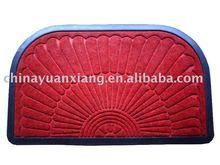 PP floor mats - PP carpet top, rubber back