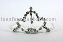 wedding crown hair clips,rhinestone hair clips