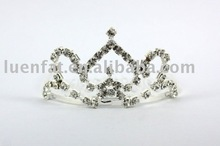 hot high quality hair clip,best price crowns