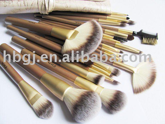 pro makeup brush set. pupa professional cosmetic