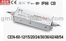 60W CEN-60 MEANWELL/LED POWER SUPPLY/CE UL EMC