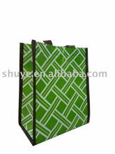 Laminated non woven hand bag