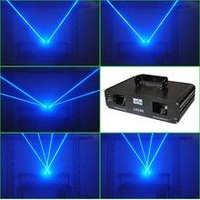 dj laser blue twin heads fat beam laser