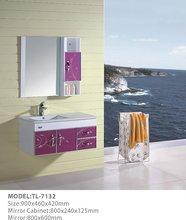 hangzhou pvc bathroom cabinet TL-7132