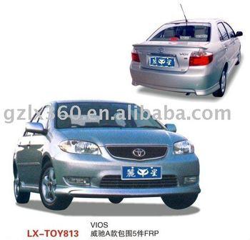 Toyota VIOS car bodykits (4 pieces)