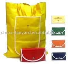 folding non-woven fashion tote bag