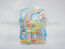 donald duck bubble gun with multicolor light,plastic toys