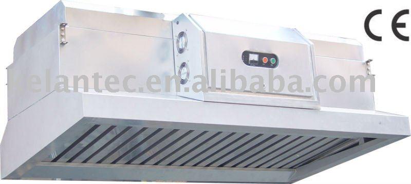 Extractor de humo para cocina restaurante
