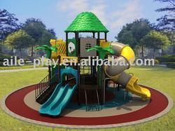 Kids Plastic Amusement Park Playground (hawail series)
