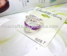 2012 NEW design Ring card