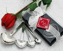 "Wedding favors ""Love Beyond Measure"" Heart Measuring Spoons"