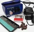 110v-250v furadeira elétrica unhas e arquivo& máquina manicure