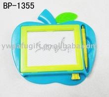 apple cartoon writing board