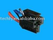 UL1007# 26 Length:750mmX4pcs crimp fuse terminal &fuse holder