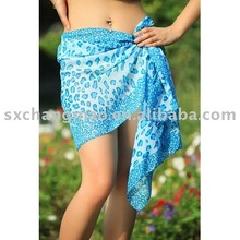 short customized printed sarongs