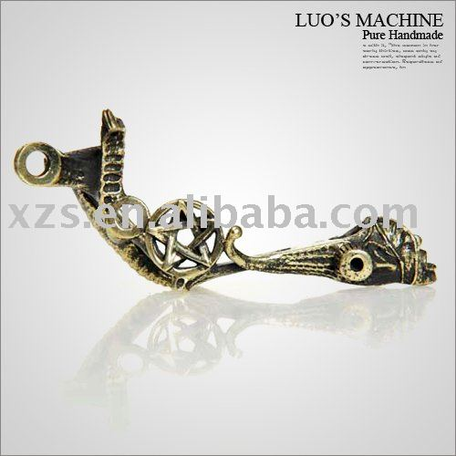 See larger image: Top Custom Luo's Style Tattoo Machine Frame Pure Copper