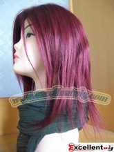 """Glueless full lace wig 10"""" #99J Chinese virgin wigs in stock"""