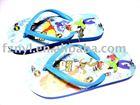 children's indoor rubber slipper, kids sandals footwear
