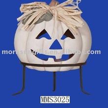 terracotta pumpkin chimenea