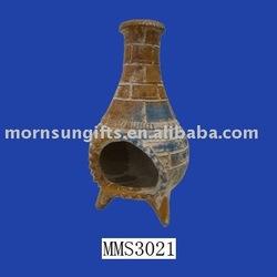 terracotta garden heater