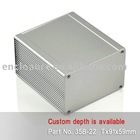 Extruded Aluminum Enclosures (Heat Sink Cases) 35B-22