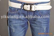 ladies' skinny pencil denim jeans capri trousers
