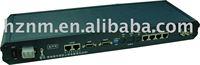 PCM multiplexer 4Ethernet 8 FXS/FXO V.35 RS232 to fiber