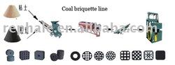 honey cob coal brquette machine