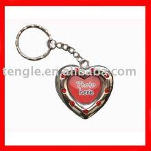 photo frame key chain for Valentine's Day