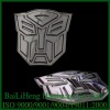 transformer 3D hip hop belt buckle