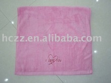 cotton embroidery face towel,terry towel,gift towel,plain towel