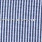 100% flax line cotton stripe garment fabric