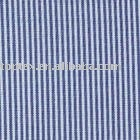 100% flax line cotton stripe garment fabric