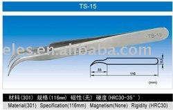 ts-15-s 시리즈 초 미세 높은 정밀도 스테인리스 핀셋