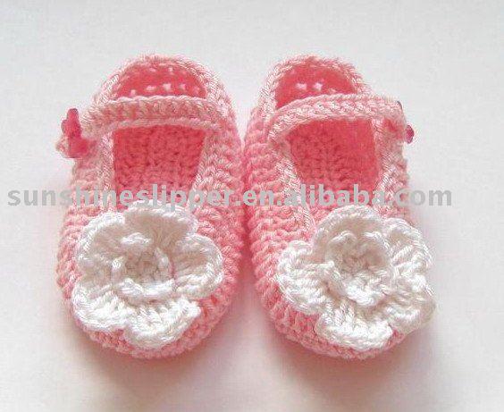 ganchillo zapatos de bebé-Zapatos de Bebé-Identificación del ...