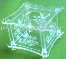 JNB--157 Royal Square Plastic Tissue Case