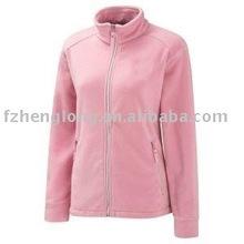 Women's solid function fleece pullover jacket