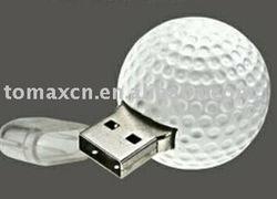 Franch open tennis ball shape usb flash drive
