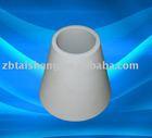 Alumina ceramic cone tube with High temperature resistance