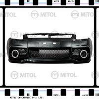 For SUZUKI SWIFT Front Bumper W/LED Daylight 07-ON Car Body Kits