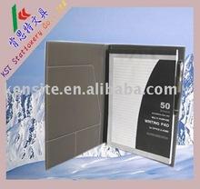 2011 fashion leather file folder