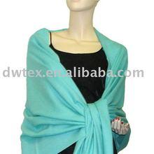 100% viscose womens pashmina shawl