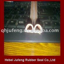 White D type rubber sponge seal