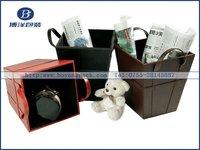 fashion design newspaper gift box