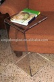 Acrílico pequena mesa de leitura , móveis de acrílico , display de acrílico