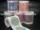 Printed Toilet Paper