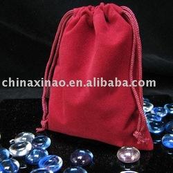 velvet jewelry pouch (X-1309)