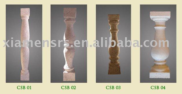 Balaustre de piedra de granito barandilla barandillas y - Balaustres de piedra ...